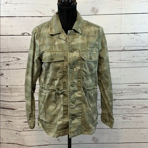 American Eagle Outfitters Camouflage Jacket XS